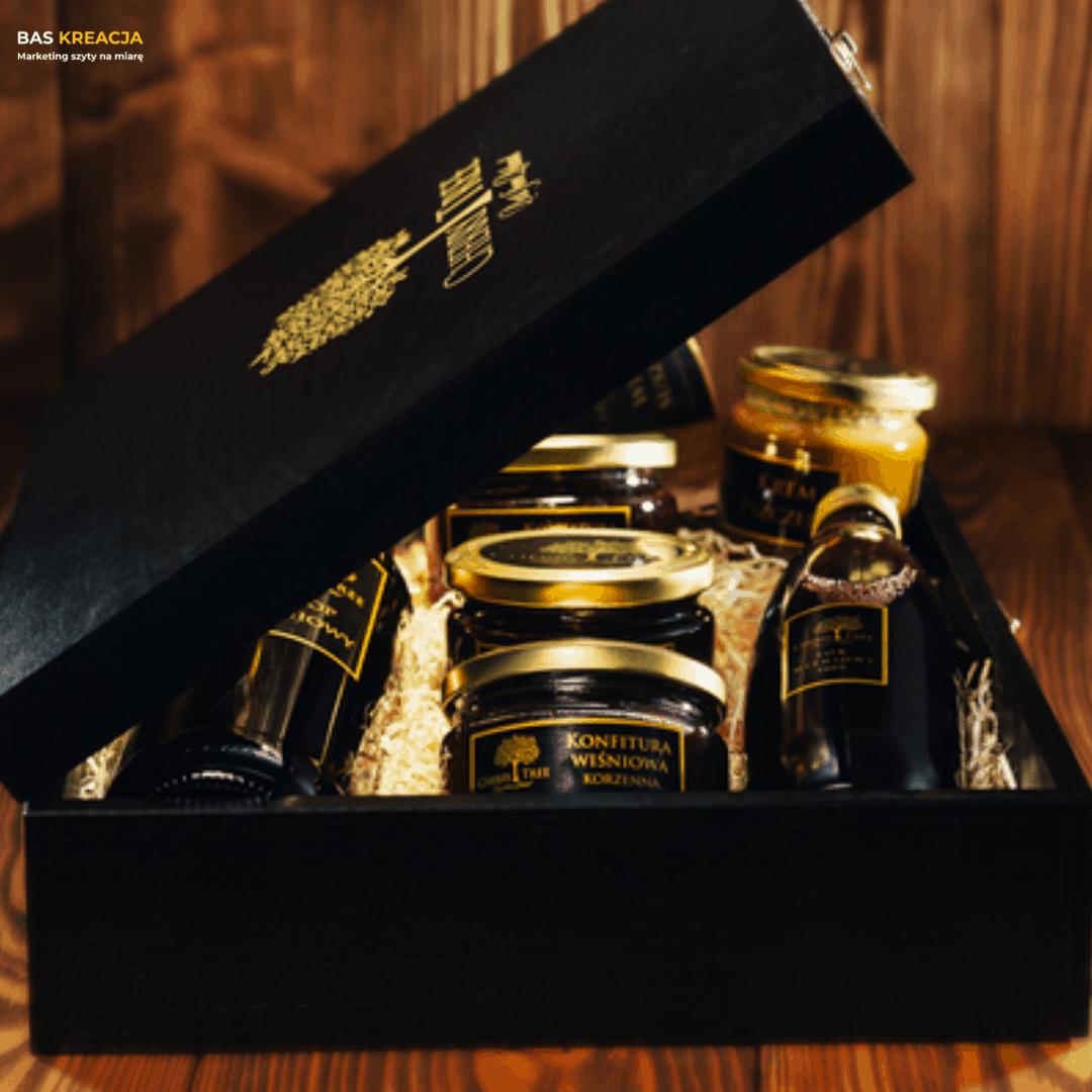 zestawy upominków na święta, wiśniowe, zestawy prezentowe, boxy prezentowe, gift box