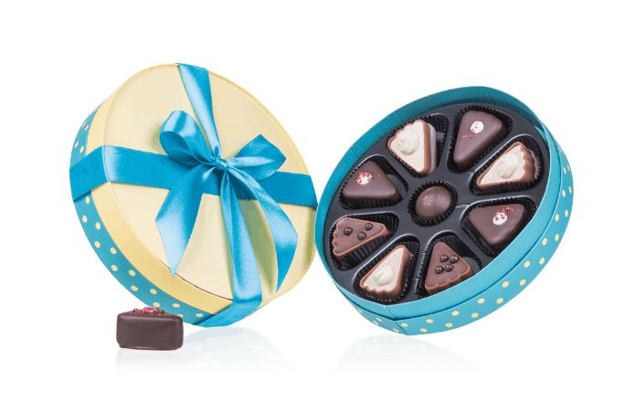 zestaw czekoladek