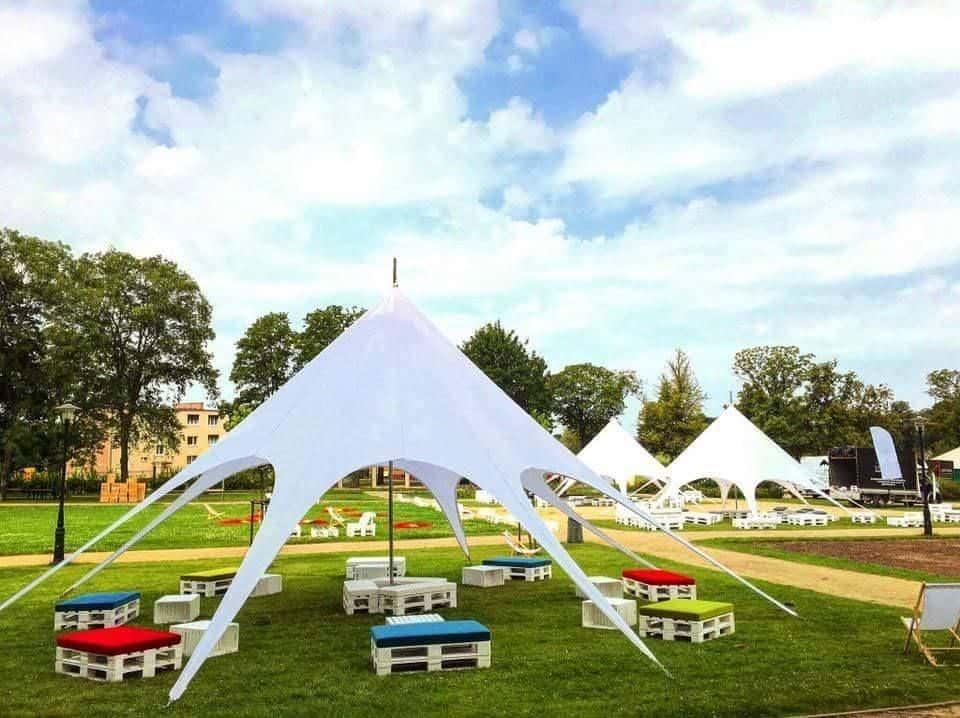 namiot znakowany