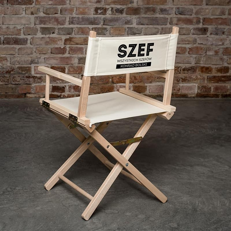ekologiczne krzesło składane