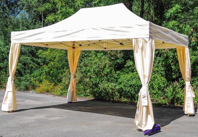 namiot duży ze znakowaniem