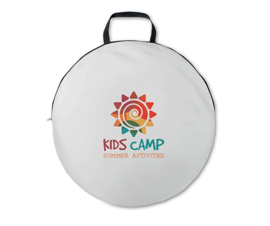 namiot plażowy logo