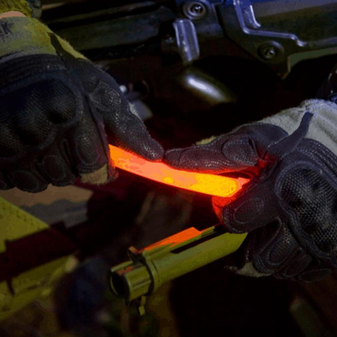 lightstick z logo, gadżety reklamowe na jesień, outdoor