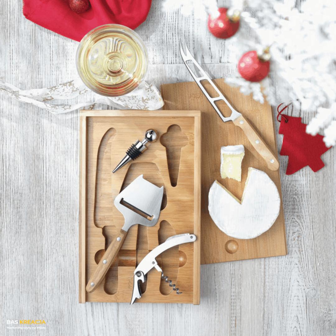 zestaw do serów i wina
