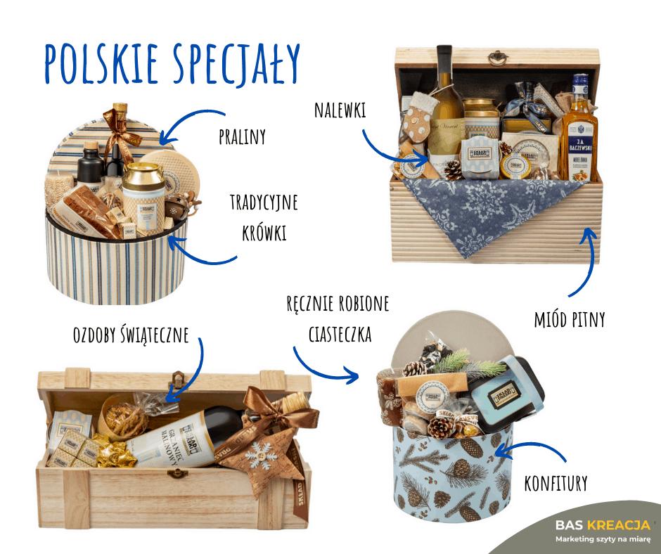 zestaw prezentowy - polskie przysmaki