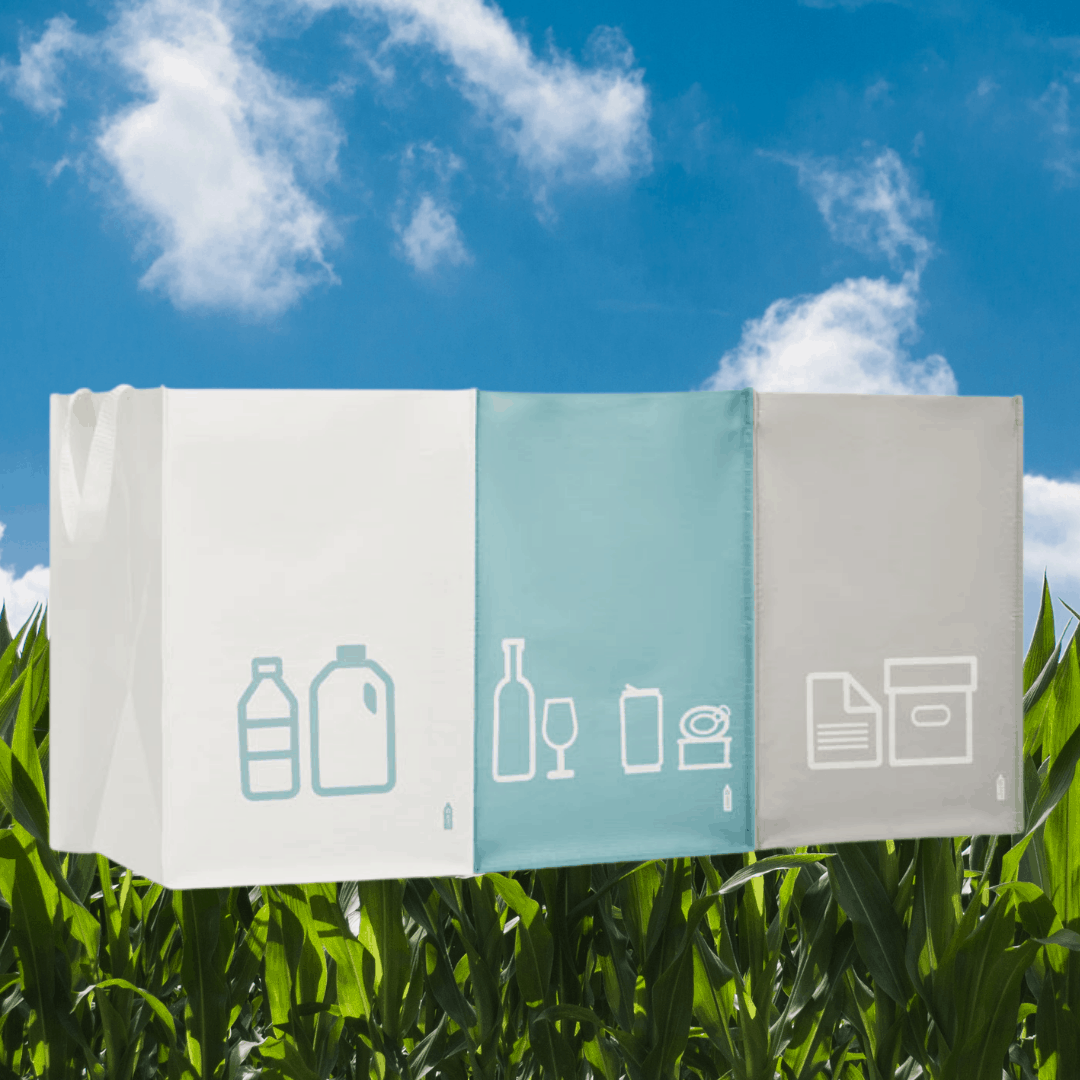 worki do segregacji odpadów - gadżety eko