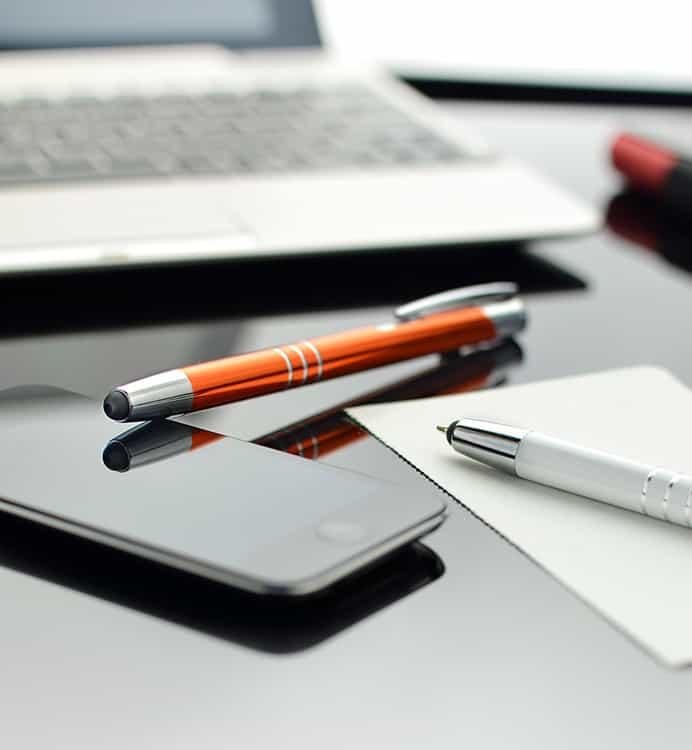 długopisy touch pen - artykuły piśmiennicze
