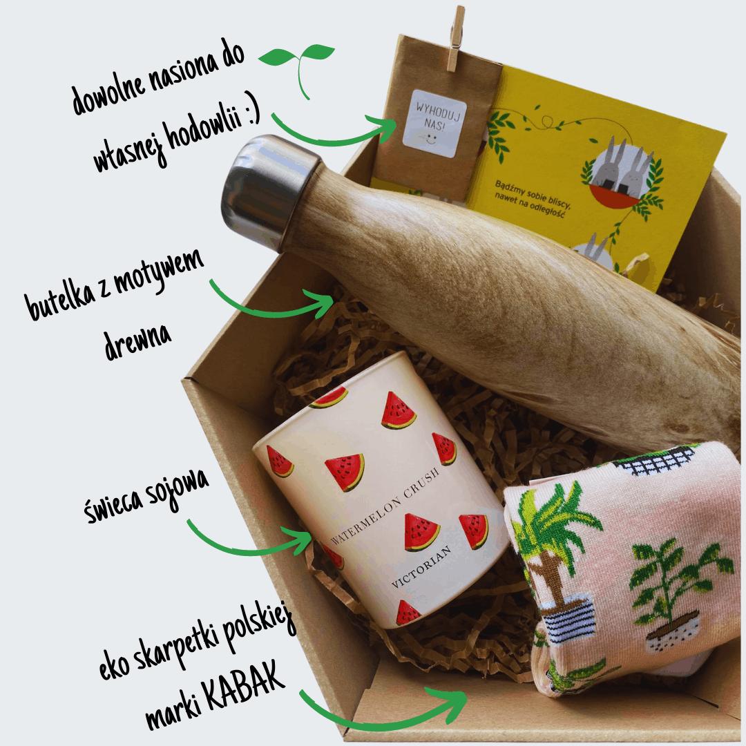 gift box eko, welcome pack, zestaw prezentowy